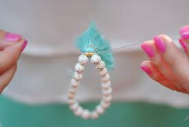 southern curls u0026 pearls diy beaded tassel bracelets