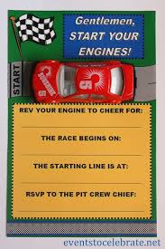free printable invitations army car racing u0026 swim party events
