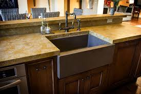 Concrete Kitchen Sink by Kitchen Awesome Lowes Farmhouse Kitchen Sink Kitchen Sinks At