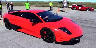 Lamborghini Murcielago Red - modded murcielago lp 640 takes on ferrari f12 berlinetta