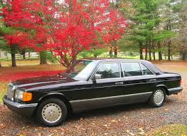 mercedes 560sel 1991 mercedes 560sel left side view cars today