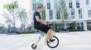 sitgo is a foldable electric bike that charges using a cigarette