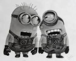 21 minions images drawings minion drawing