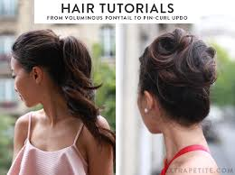 barrel curl ponytaol easy formal hairstyle tutorials from voluminous ponytail to