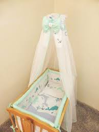 Swinging Crib Bedding 8 Nursery Baby Crib Bedding Set 90x40 Cm Fits Rocking