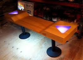 Custom Beer Pong Tables by If It U0027s Hip It U0027s Here Archives Custom Light Up Beer Pong