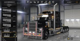 kenworth parts kenworth w900 tri drive custom by bu5ted for ats ats mod