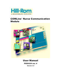 comlinx nurse communication module user manual