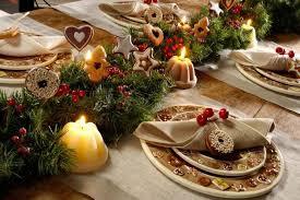 cuisine pour noel décoration de table élégante et originale pour la fête de noël