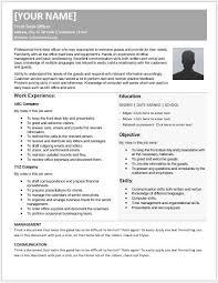 Front Desk Officer Front Desk Officer Resumes For Ms Word Resume Templates