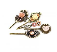 beautiful hair pins hair pins hair jewelry floral bobby pins set