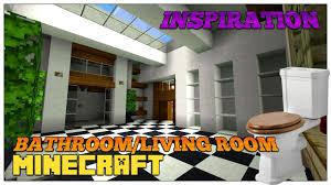 Minecraft Medieval Furniture Ideas Minecraft Living Room And Bathroom Inspiration U0026 Design Ideas