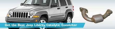 2002 jeep liberty exhaust jeep liberty catalytic converter exhaust converters bosal