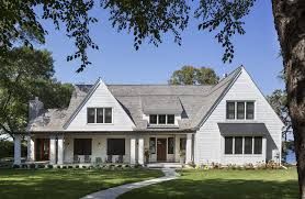 House Dormer Lake House Design Exterior Transitional With Windows Dormer Window