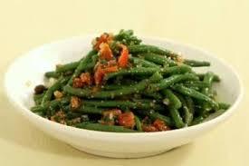 cuisiner des haricots verts recette de salade de haricots verts à l échalote vinaigrette au