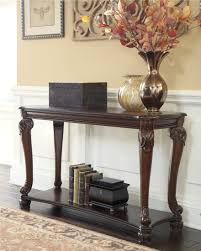 Dark Cherry Sofa Table by Norcastle Sofa Console Table From Ashley T519 4 Coleman Furniture