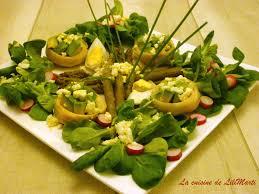 cuisine artichaut salade verte aux fonds d artichaut avocat et asperges la