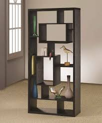 furniture ladder shelf cherry wood bookcase with doors 2