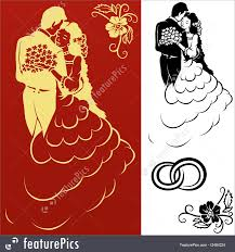 wedding ornament illustration