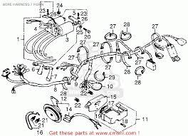 honda cb550 super sport 550 four cb550f2 1977 usa wire harness