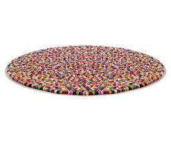 tapis boule feutre tapis pinocchio ø 140 cm multicolore hay