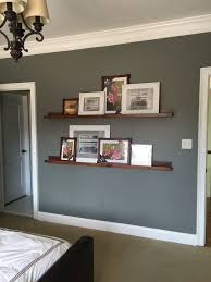 Wood Shelf Gallery Rail by Gallery Wall For A Long Hallway Photo Ledge Long Hallway And