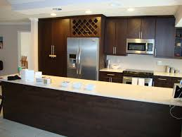 Brown Cabinet Kitchen Kitchen Backsplash Ideas White Cabinets Brown Countertop Subway