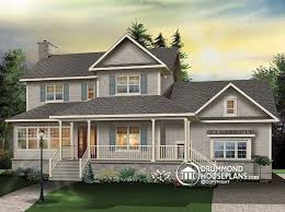 country style home plan of the week pleasing proportions in country style home