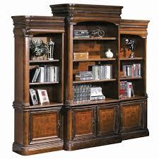 Aspen Bookcase Aspenhome Napa Breakfront Bookcase Combination Wall Unit With