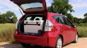 the 2012 toyota prius v is the workhorse of the prii family
