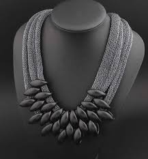 star statement necklace images Petal statement necklace 786shop4you jpg