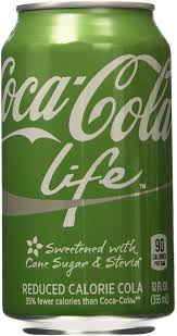 Coca Cola Six Flags Coupon Amazon Com Coke Life Reduced Calorie Coca Cola With Stevia 12 Oz
