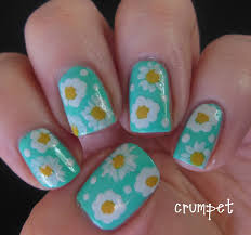 easy nails art design using a toothpick simple flower nail art 25