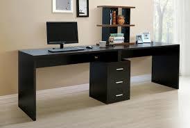 two tone modern computer desks home and garden decor modern