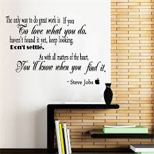 compare prices on wall decals quotes for office online shopping famous quotes by steve jobs vinyl wall sticker removable inspirational wall decals for office study