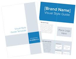 how to create a brand u0027s visual style guide template included