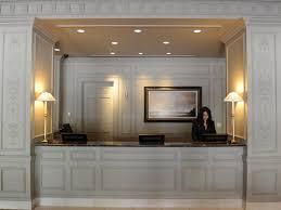 Industrial Reception Desk by Reception Desks For Offices Custom Counters Modern Industrial Desk