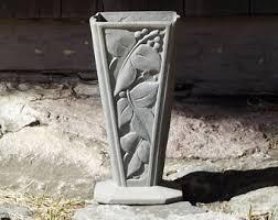Vase French Metal Vase Etsy