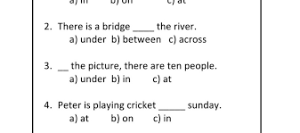 free worksheets preposition of time worksheets for grade 3