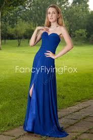 stunning sweetheart neckline a line floor length royal blue