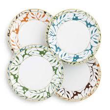 assiette de porcelaine assiette à dîner plate ronde en porcelaine auréole