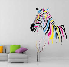 Bob Marley Home Decor Funky Funky Wall Decals Zebra Wall Decal Kerstee Bob Marley Quotes