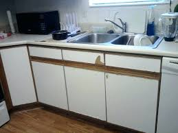 how to fix peeling thermofoil cabinets thermofoil cabinets repair cabinets peeling kitchen cabinets peeling