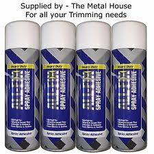 Upholstery Spray Glue Spray Adhesives Ebay
