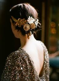 gold hair accessories diy gold wedding hair accessories once wed