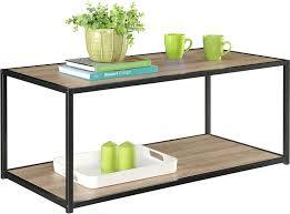 Computer Coffee Table Amazon Com Altra Canton Coffee Table With Metal Frame Sonoma Oak