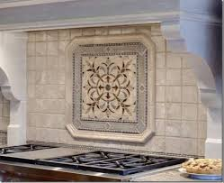 Kitchen Medallion Backsplash Nature Granite Waterjet Medallion Pattern Kitchen Backsplash
