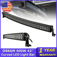 Best Light Bars For Trucks Best Osram 400w 42 Inch Curved Led Light Bar 4x4 Combo Beam Led