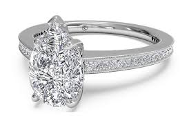 Pear Shaped Wedding Ring by Pear Shaped Engagement Rings Ritani