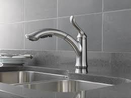 Delta Linden Faucet 4453 Ss Dst by Delta Faucet 4353 Ar Dst Linden Single Handle Water Efficient Pull